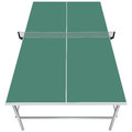 Table for table tennis with a net vector illustration Stock Photo