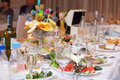 Table vine eat nobody with Royalty Free Stock Image