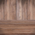 Table with wooden texture Royalty Free Stock Images