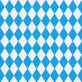 Tablecloth with bavaria pattern blue Royalty Free Stock Photo
