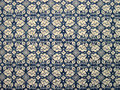 Tablecloth of floral pattern retro Royalty Free Stock Image