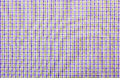 Tablecloth light violet checked fabric Royalty Free Stock Image