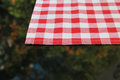 Tablecloth and reflection as background or texture Royalty Free Stock Photography