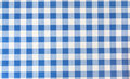 Tablecloth square blue color Royalty Free Stock Photo