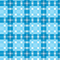 Tablecloth tartan pattern Royalty Free Stock Image