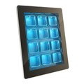 Tablet pad electronic device with app cells Royalty Free Stock Photos