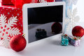 Tablet pc a as the best gift Stock Photography