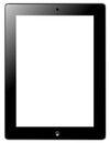 Tablet similar ipad idea button with Royalty Free Stock Photos