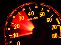 Tachometer at work Royalty Free Stock Photography