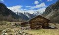 Tacky hut Royalty Free Stock Photo