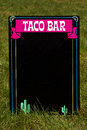 Taco Bar Royalty Free Stock Photo