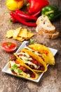 Taco Royalty Free Stock Photo