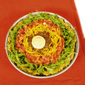 Taco pie Royalty Free Stock Photo