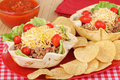 Taco Salad Royalty Free Stock Images