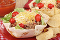 Taco Salad Meal Stock Images