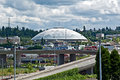 TACOMA, WA -Tacoma Dome Largest Wood Dome Royalty Free Stock Image