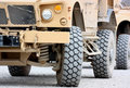 Tactical military vehicle Royalty Free Stock Photo