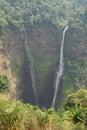 Tad fane waterfall laos asia bolaven plateau Stock Photo