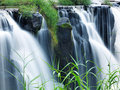 Tad-Pa Suam waterfall Stock Photos