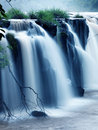 Tad-Pa Suam waterfall Royalty Free Stock Photos