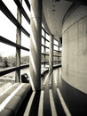 Tadao ando s museum the architecture is designed by a japanese architect Royalty Free Stock Photos