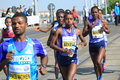 Tadelech Bekele - Prague marathon 2015 Royalty Free Stock Photo