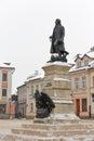 Tadeusz Kosciuszko monument in Rzeszow, Poland.
