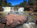 Tadtone waterfall landscape Stock Images