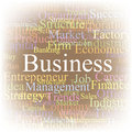 Tag cloud Business. Royalty Free Stock Photos