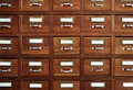 Tagged drawers Royalty Free Stock Photography