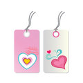 Tags of love Stock Images