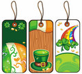 Tags for the St. Patricks Day 2 Royalty Free Stock Image