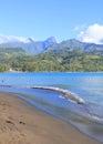 Tahiti island Royalty Free Stock Photo