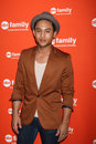 Tahj Mowry arrives at the ABC Family West Coast Upfronts Stock Images