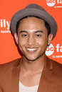 Tahj Mowry arrives at the ABC Family West Coast Upfronts Royalty Free Stock Photography