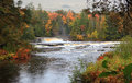 Tahquamenon Falls Base Royalty Free Stock Photo