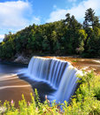 Tahquamenon Falls in Summer Royalty Free Stock Photo