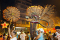 Tai Hang Fire Dragon Dance 2012 Royalty Free Stock Images