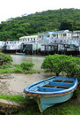 Tai O fishing village Royalty Free Stock Image