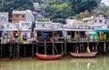 Tai O fishing village, Hong Kong Royalty Free Stock Photo