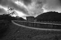 Tai tam reservoir hong kong it is one of the beautiful reservoirs in Royalty Free Stock Image