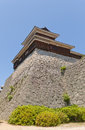 Taiko (Drum) Turret of Matsuyama castle, Japan Royalty Free Stock Photo