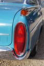 Tail light of classic car Royalty Free Stock Photo