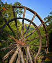 Tailing Wheel, Jackson California Royalty Free Stock Image