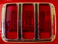 Taillight of Ford Mustang Royalty Free Stock Photo