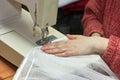 Tailor work. Stock Photos