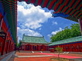 Tainan Koxinga Shrine Royalty Free Stock Photo