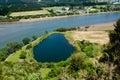 Taipa river - Northland New Zealand NZ Royalty Free Stock Photo
