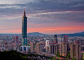 Taipei cityscape taiwan s and Royalty Free Stock Photo