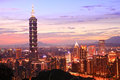 The Taipei 101,Taiwan. Royalty Free Stock Photo